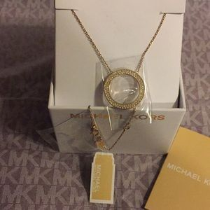 MICHAEL KORS - NECKLACE ROSE-GOLD (NEW)
